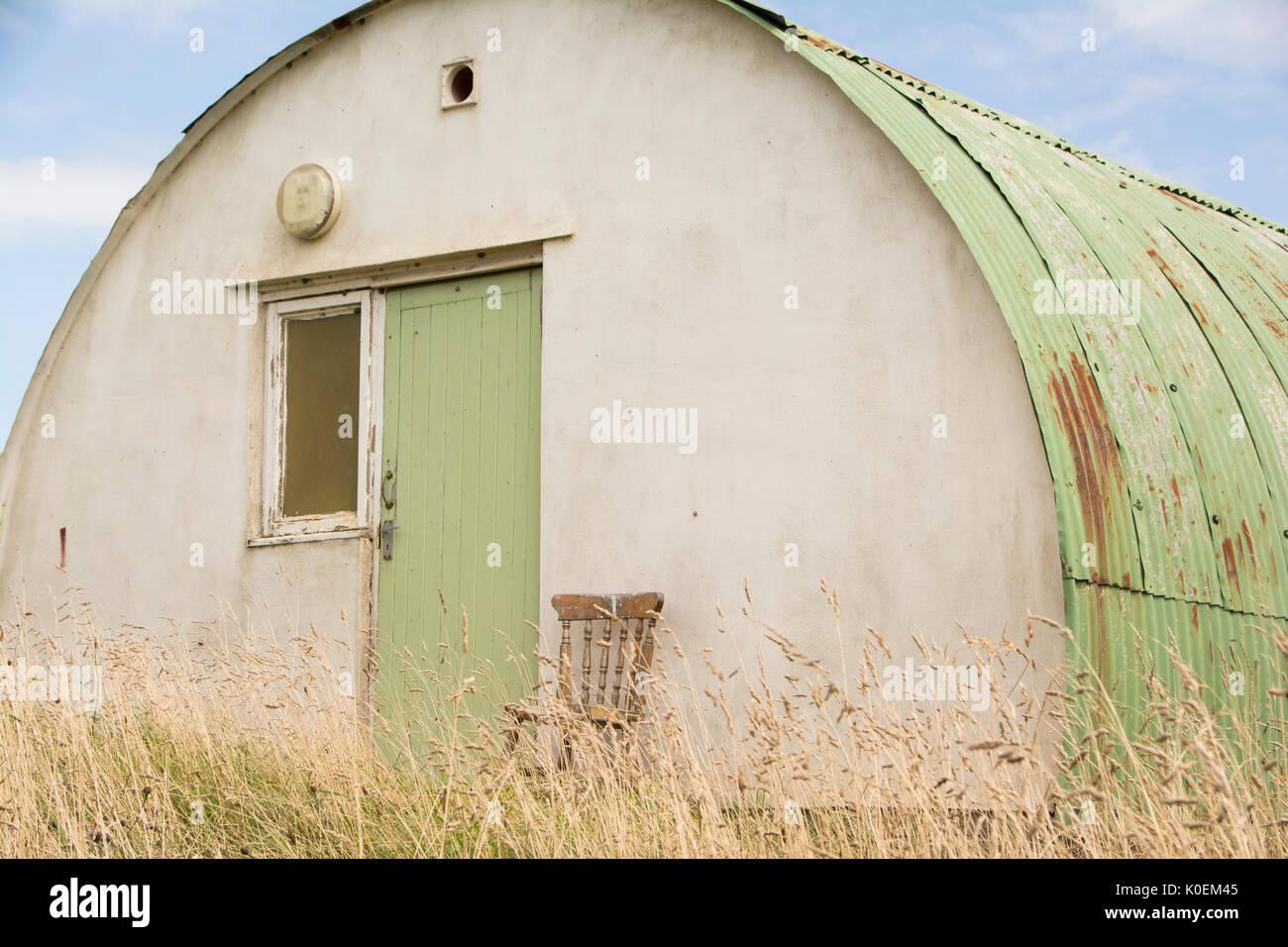 Lonely semplice abitazione Immagini Stock