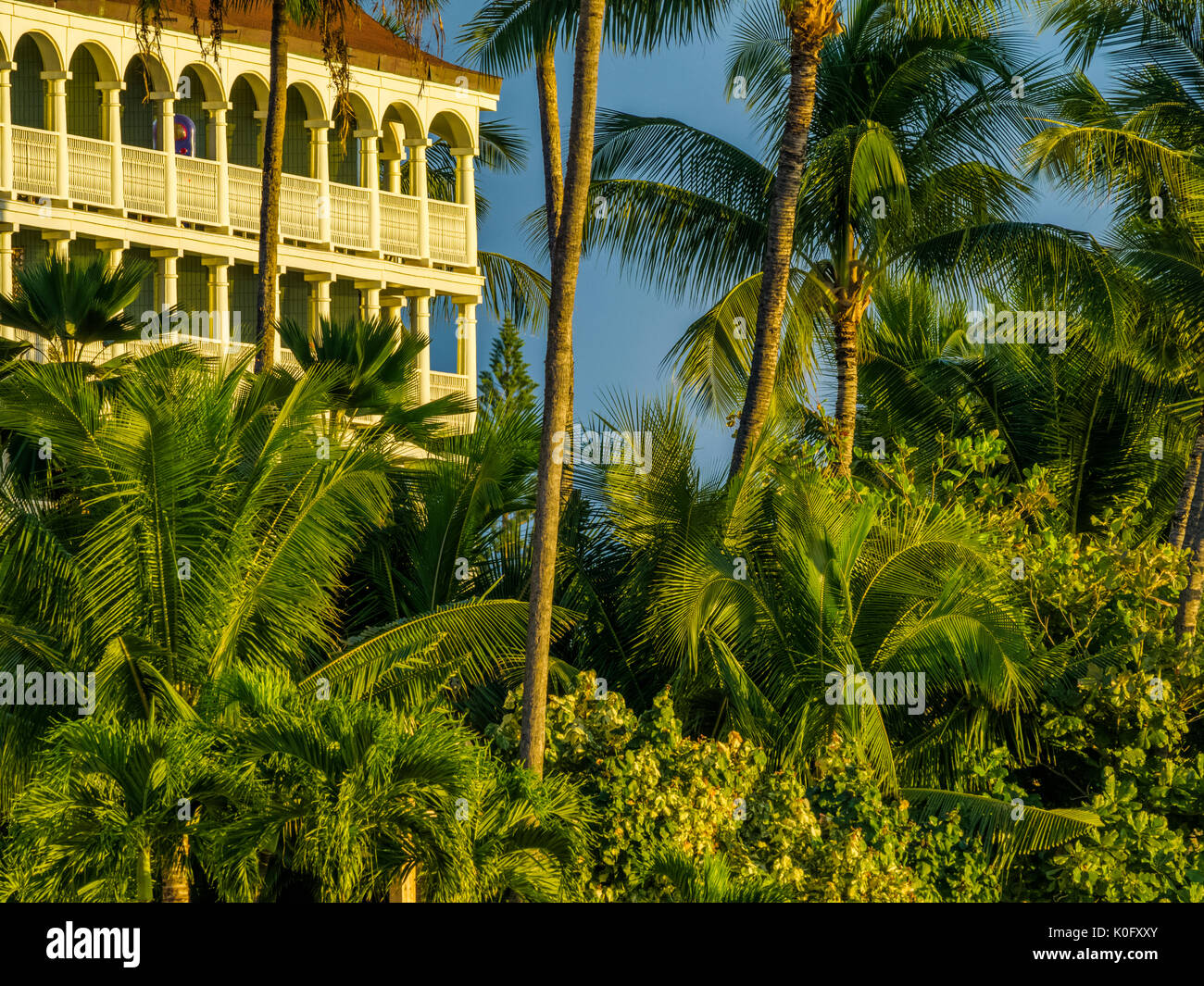 Resort a Maui Hawaii Foto Stock