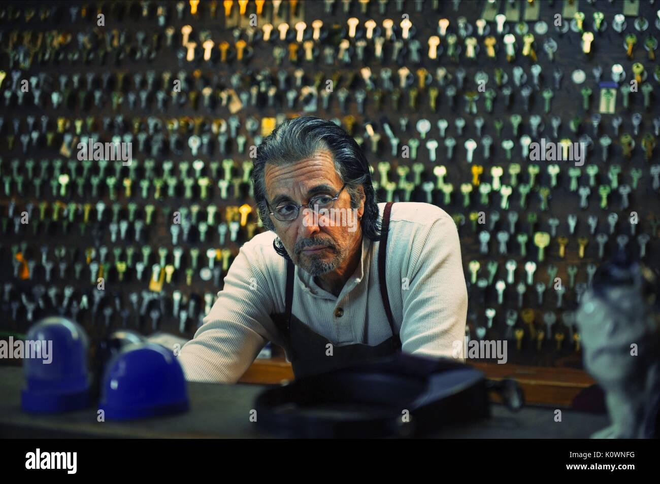 AL PACINO MANGLEHORN (2014) Immagini Stock