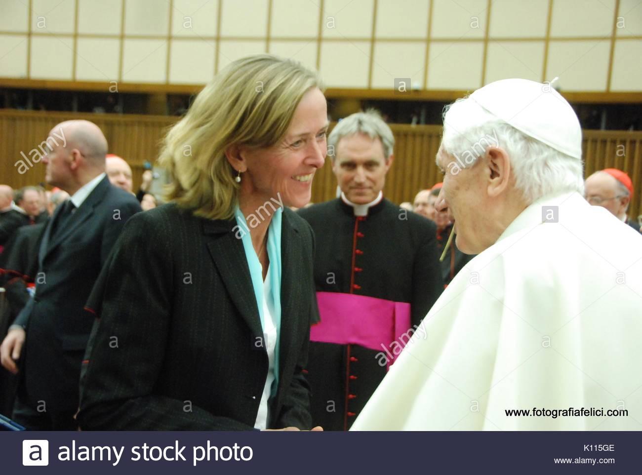 Papa Benedetto Xvi E Juliane Kirchner Jung Papa Benedetto Xvi