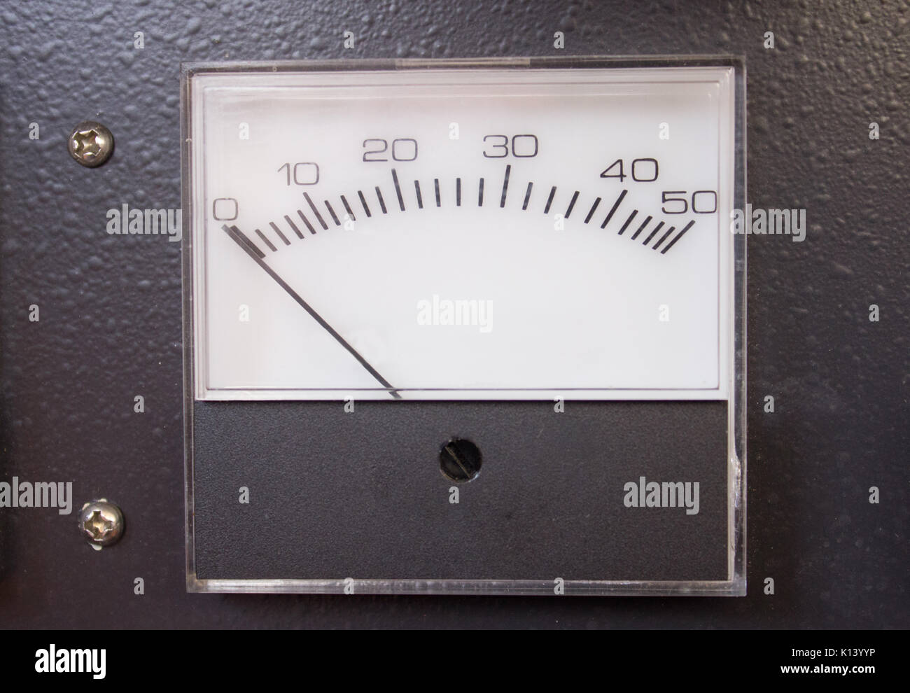 Scala, o misuratore Gage Foto Stock