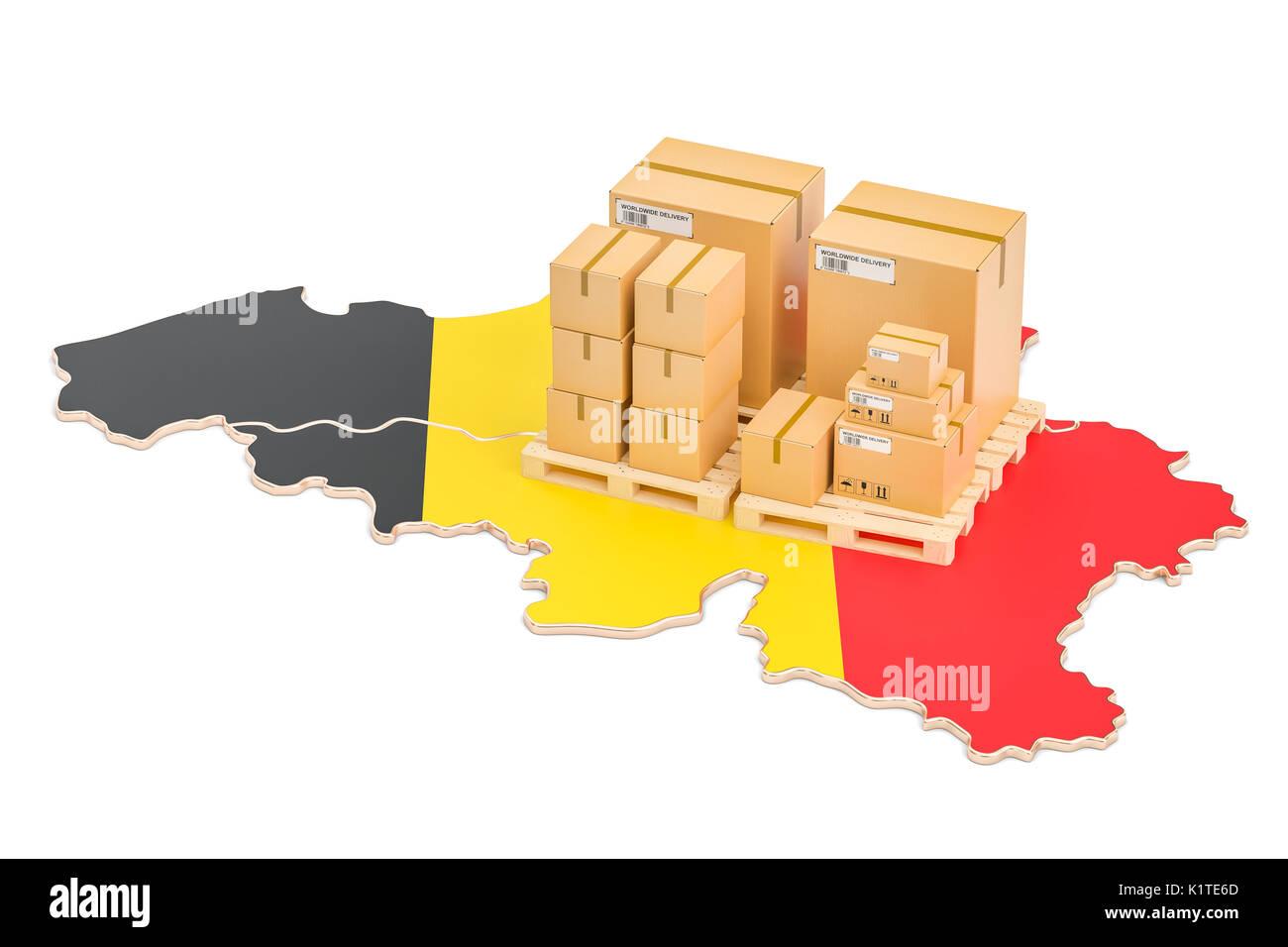 Spese di spedizione e tempi di consegna dal belgio isolato su