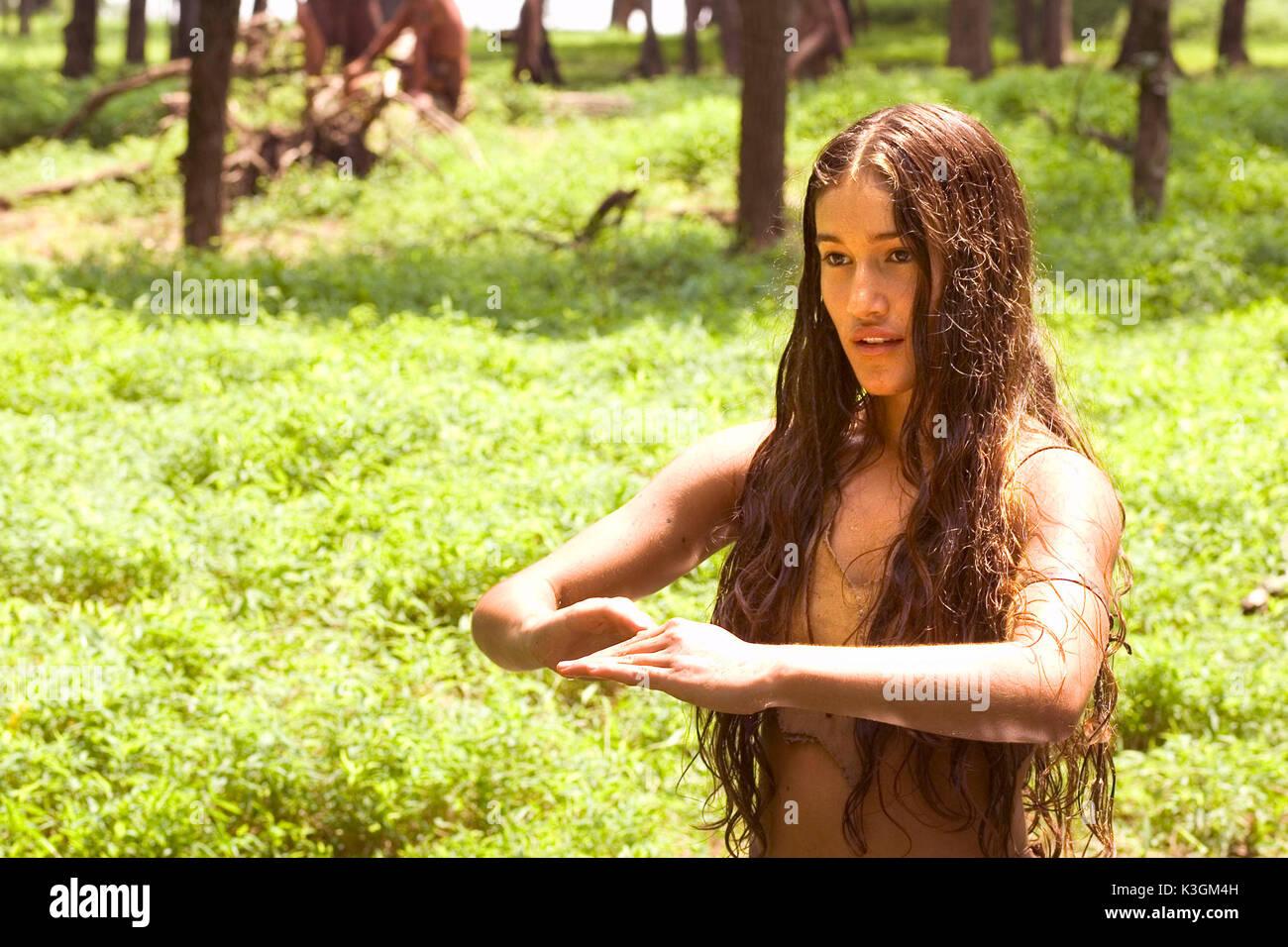 Qorianka Kilcher as Pocahontas in The New World (2006
