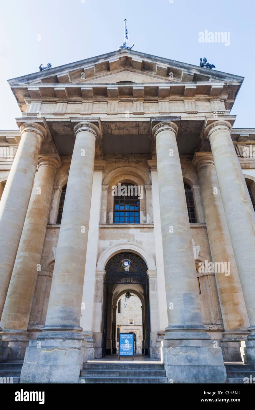 Inghilterra, Oxfordshire, Oxford, biblioteca Bodleian Library Building, il Clarendon Building Foto Stock