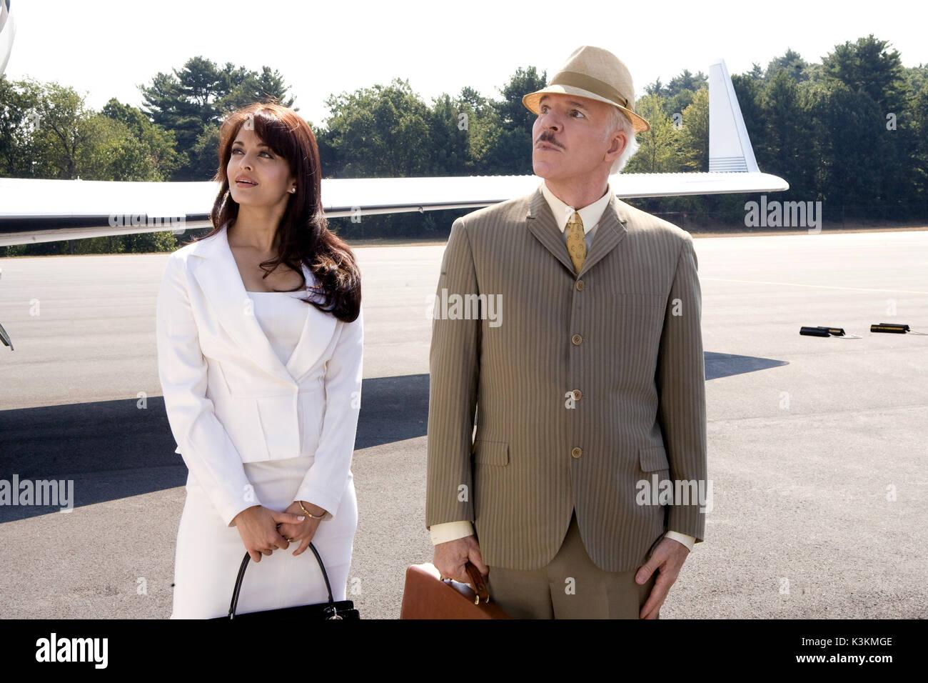 La Pantera Rosa 2 Aishwarya Rai Steve Martin Come Ispettore Clouseau Data 2009 Foto Stock Alamy