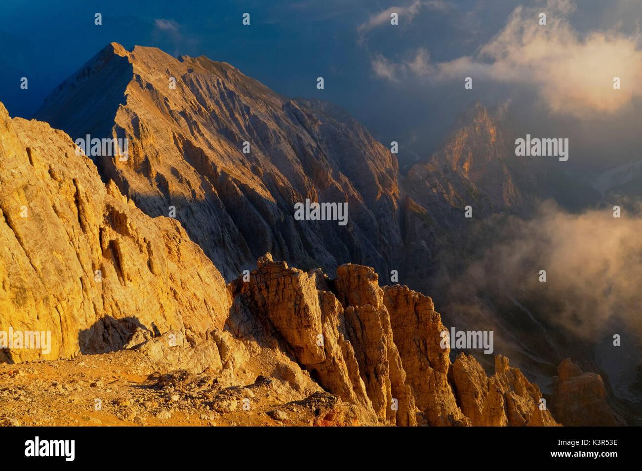 Creste Bianche,,Cortina Ampezzo Dolomiti,,Alpi,Veneto,Italia Foto Stock