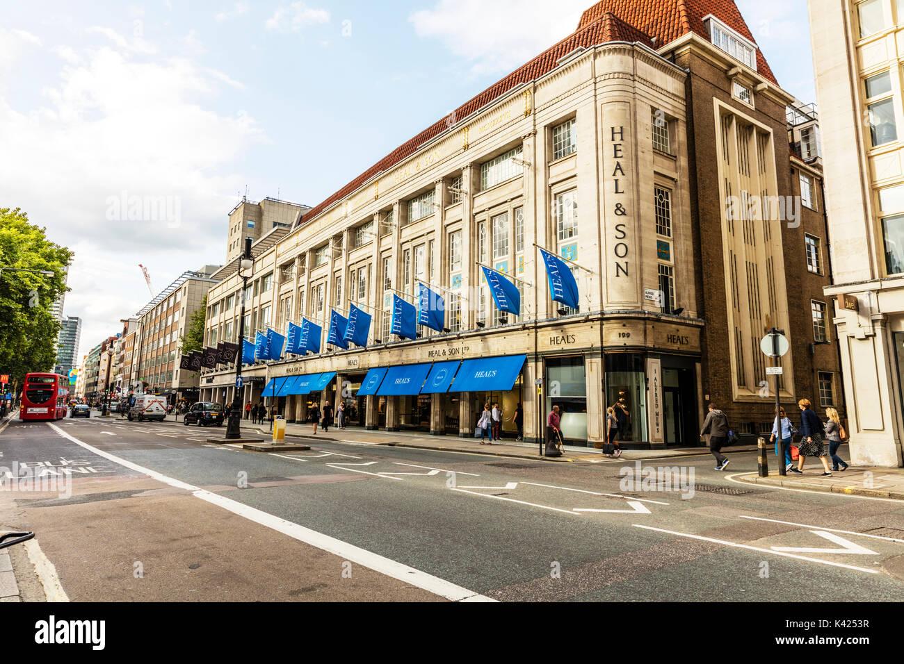 """Guarire & SON LONDON, guarire & Figlio, guarire e figlio, guarire e figlio di Londra, guarire 'guarire e figlio ltd """" è un cittadino britannico di mobili e di arredamento catena negozio Immagini Stock"""
