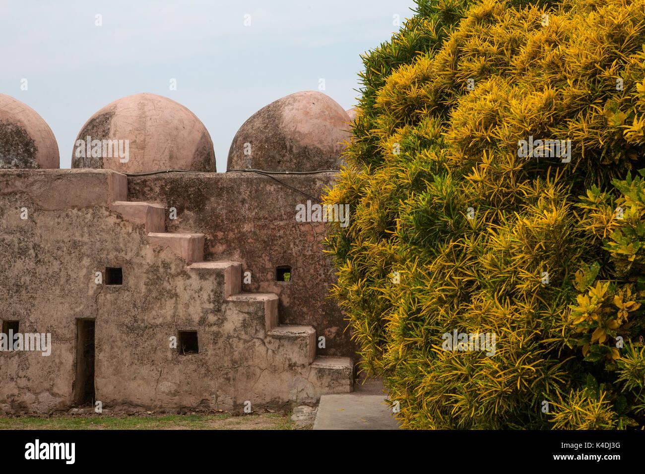 Giardini Pinjor (Yadavindra gardens), costruito per l'Harem del righello. Pinjor, Haryana, India Immagini Stock