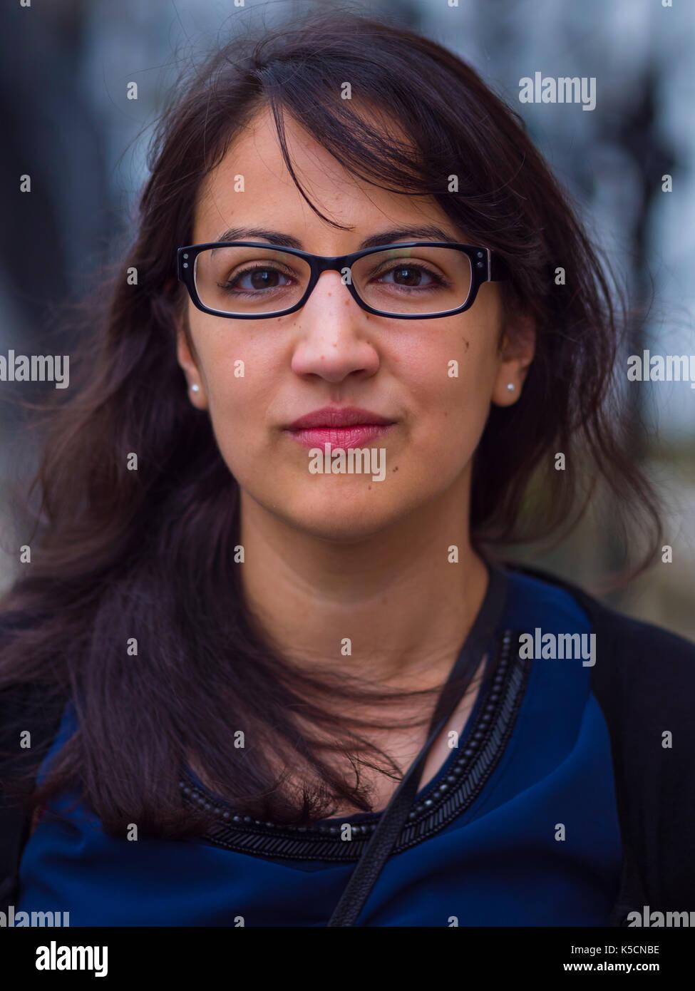 Bella ragazza - venti anni Immagini Stock