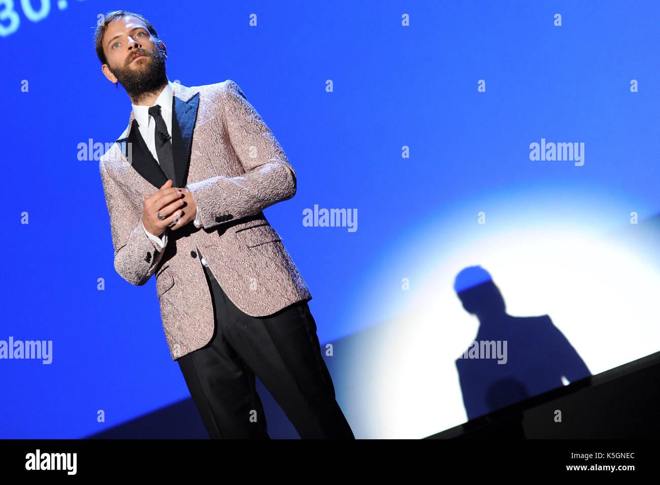 74a Mostra del Cinema di Venezia, 'venezia 74' leoni d'oro alla cerimonia di premiazione nella foto: Alessandro Foto Stock