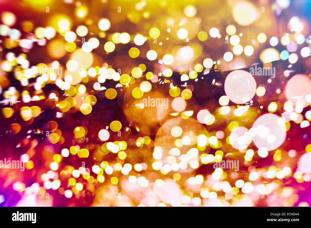 Sfondi Natalizi Luminosi.Festa Con Sfondo Bokeh Di Fondo Naturale E Luminoso Luci