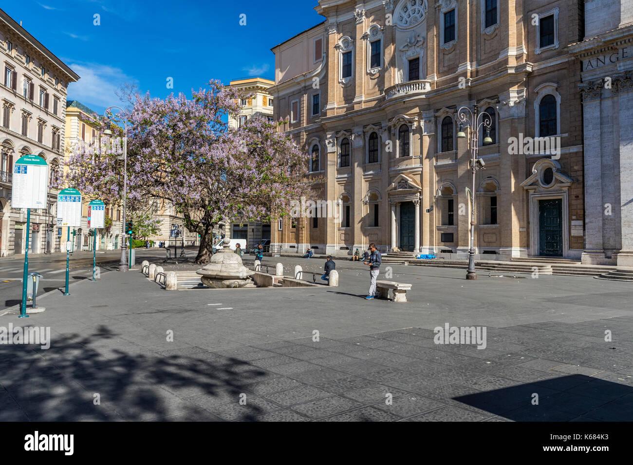 Santa Maria In Vallicella In Piazza Della Chiesa Nuova Roma Lazio