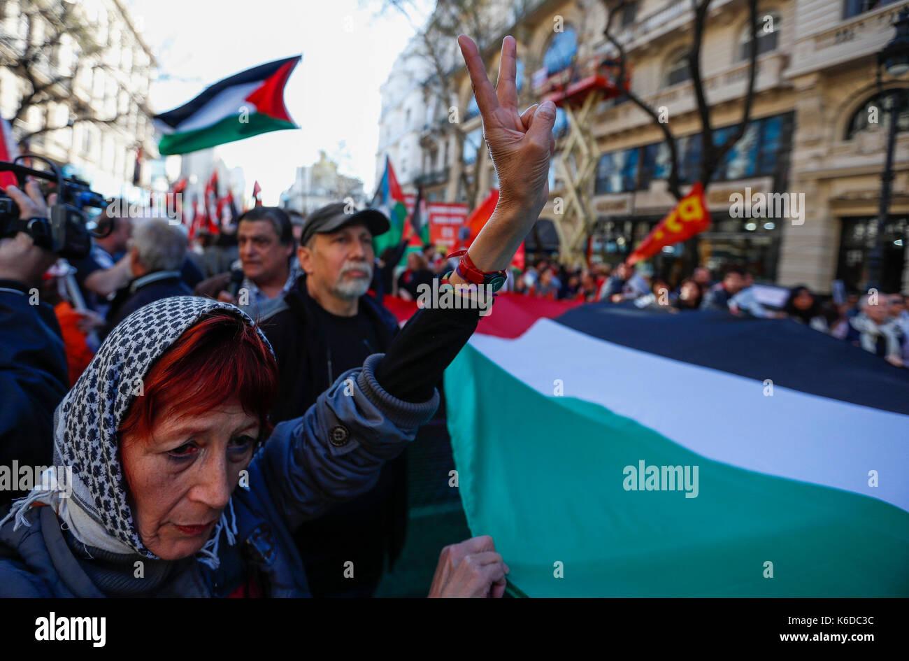 Risultati immagini per buenos aires solidarietá con la palestina