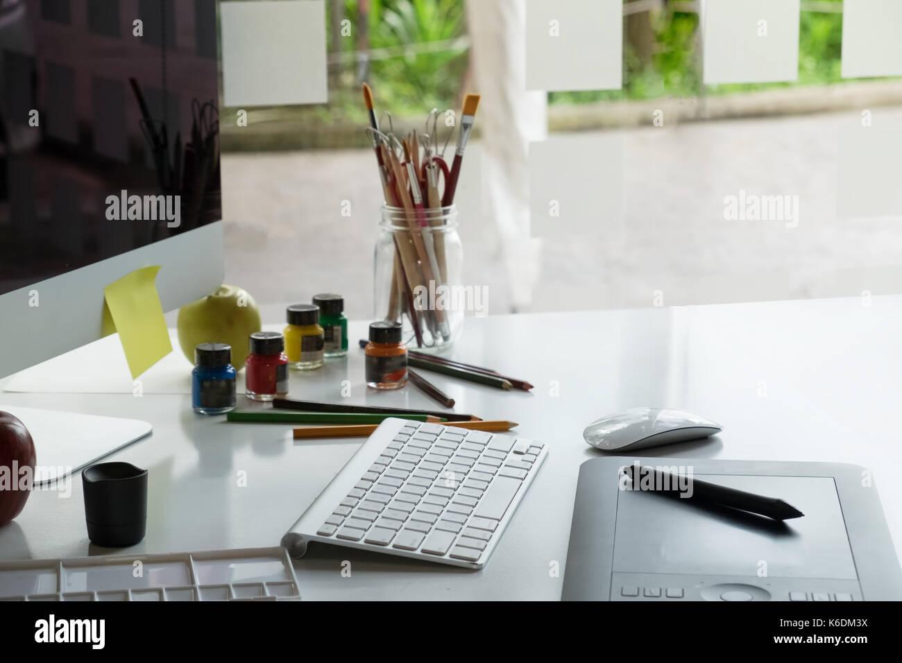 Ufficio Moderno Design : Graphic design studio creatività idee ufficio moderno ambiente di