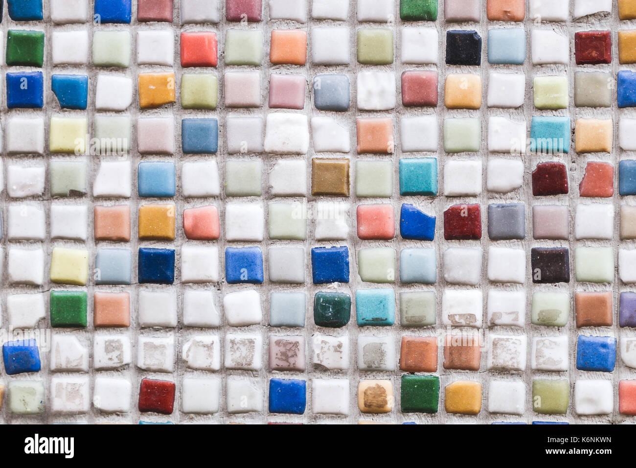 Mosaico multicolore parete piastrelle per pavimento foto & immagine