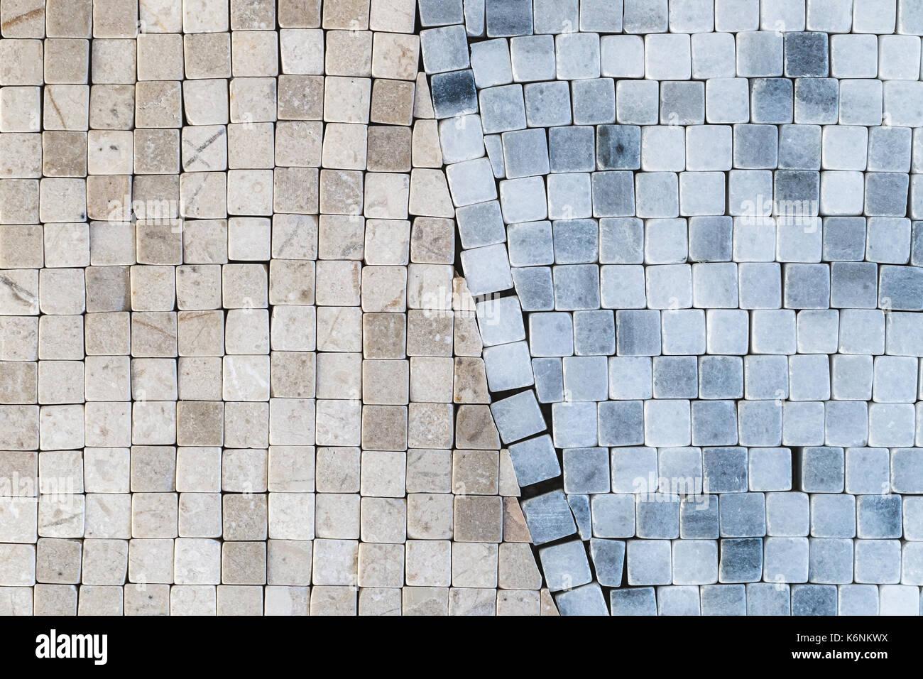 Diversi mosaico astratto parete piastrelle per pavimento foto