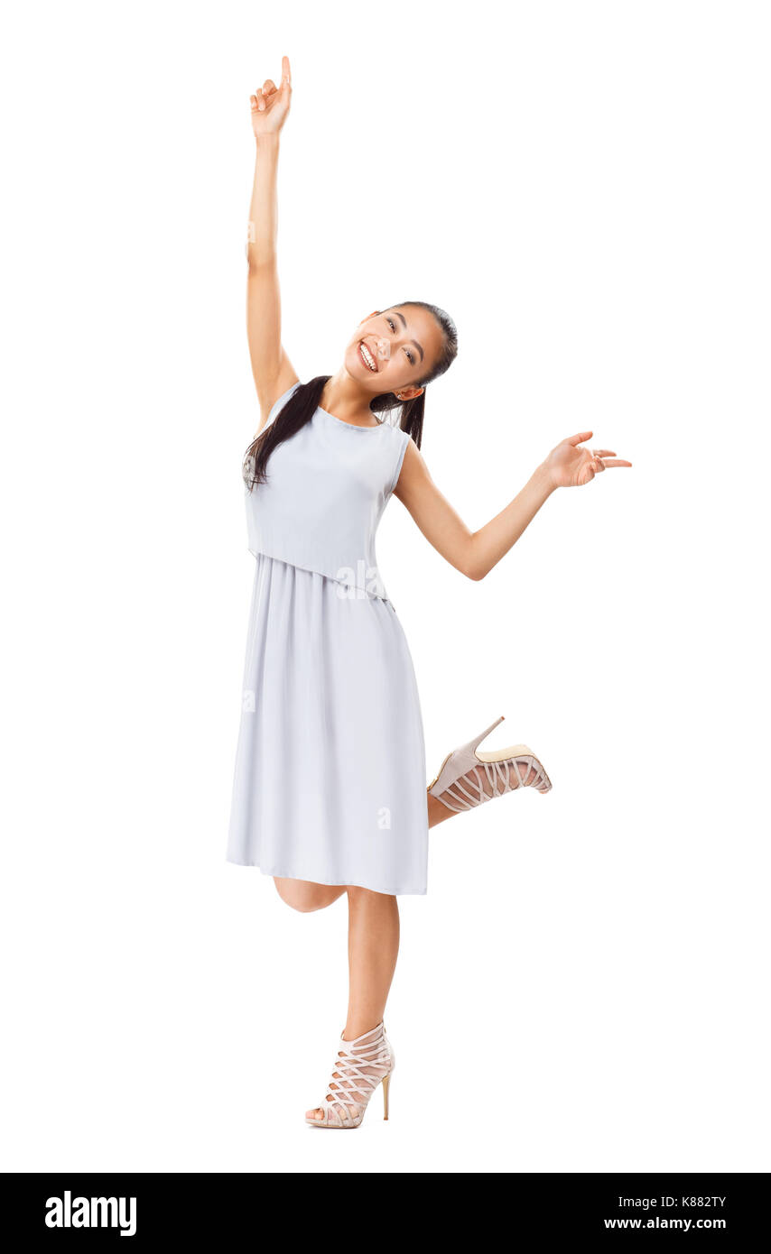 official photos f5971 16f3a Giovani energica ragazza asiatica gode di vita. Donna felice ...