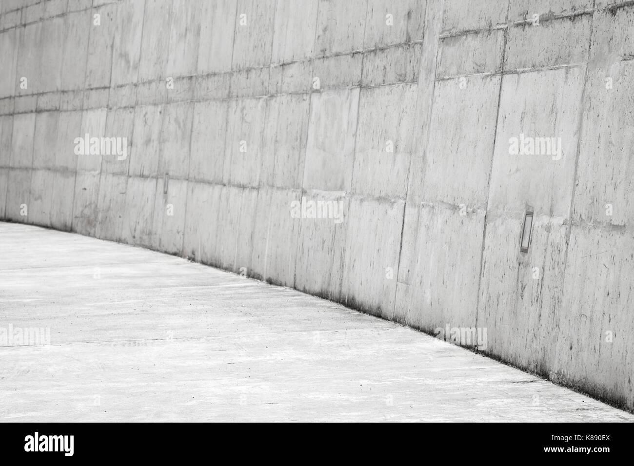Pietra Da Interni Grigia : Abstract di cemento bianco interni angolo vuoto di pietra grigia