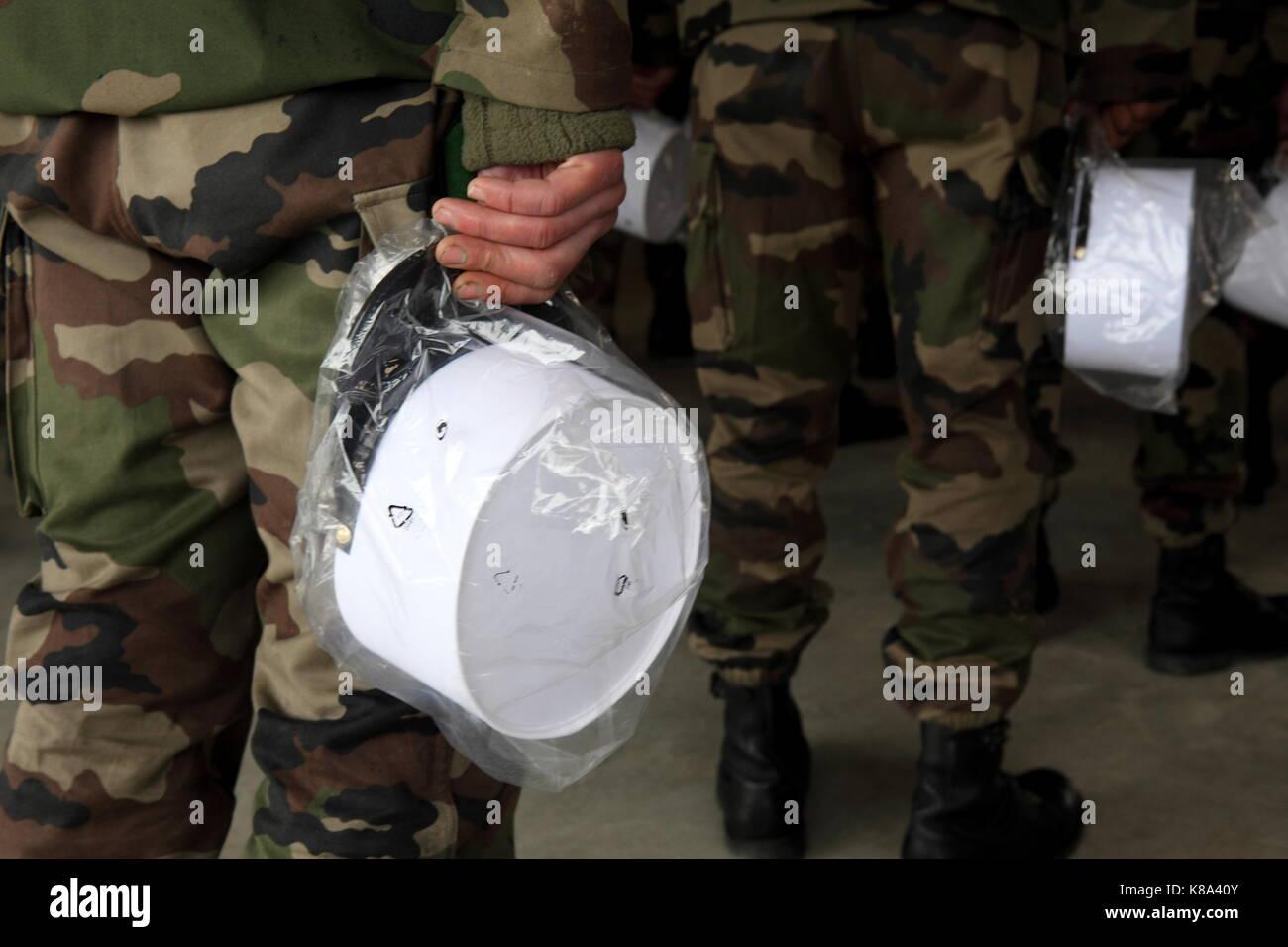 Banjoman 1:6 SCALA Personalizzati Legione Straniera Francese KEPI BLANC