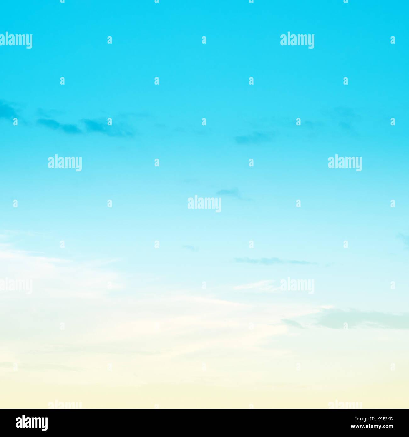 Sky pastello colori luminosi Immagini Stock