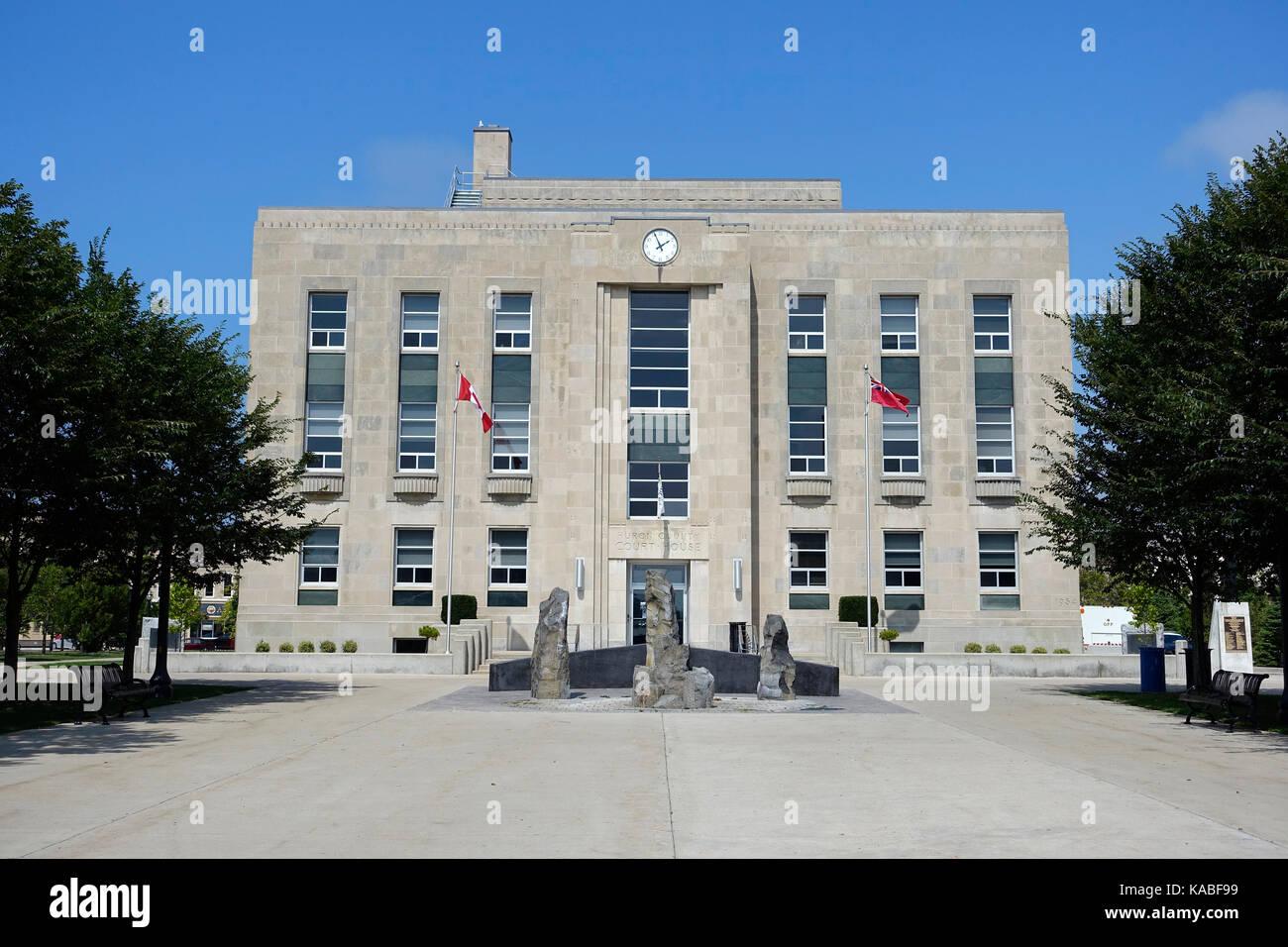 Huron county courthouse goderich ontario canada ha votato la citt pi bella in canada e a - La casa piu bella al mondo ...