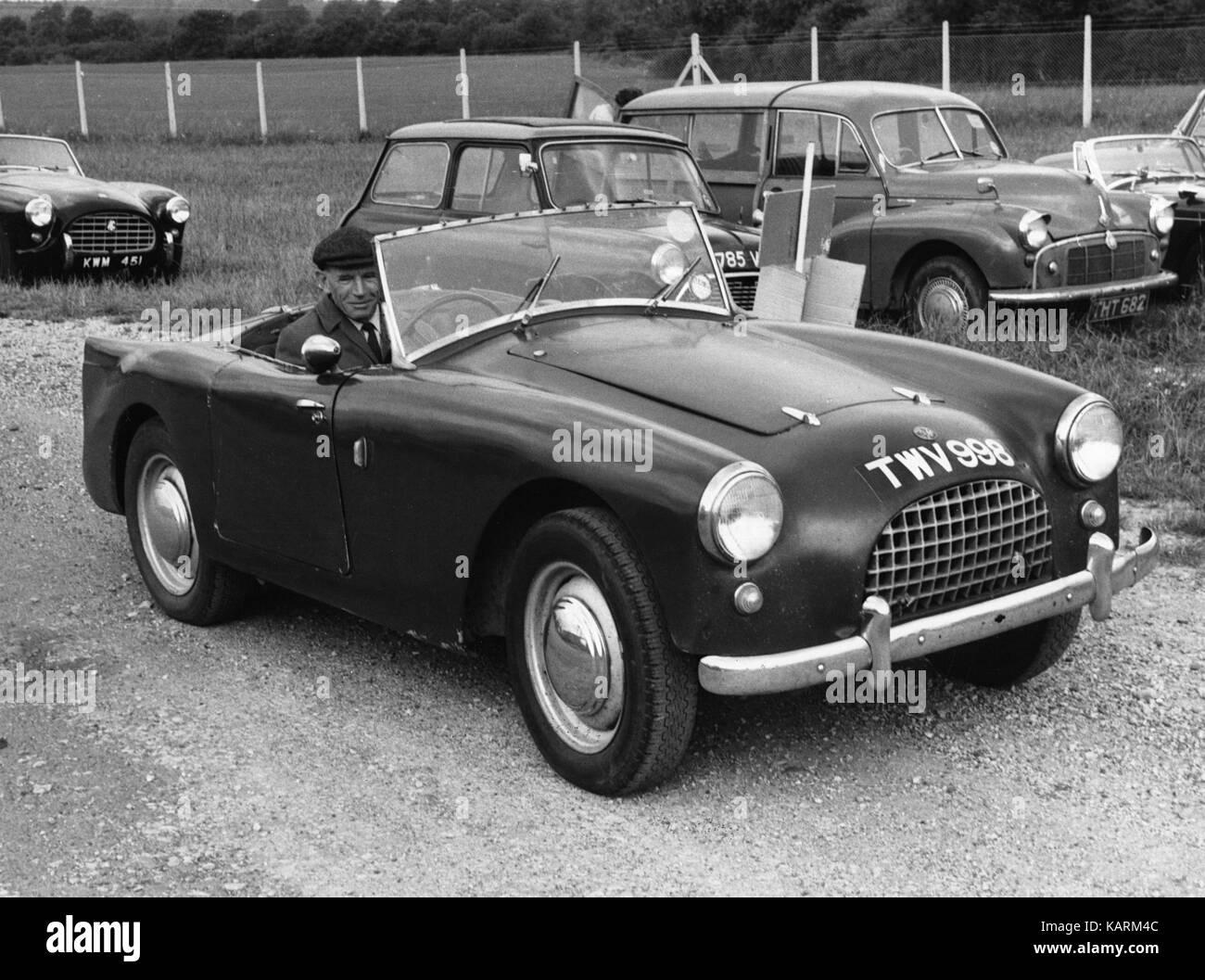 1959 turner a35 sport Immagini Stock