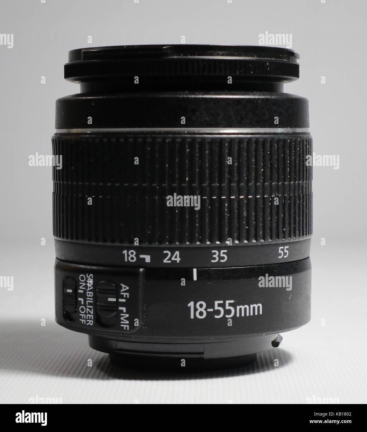 obiettivo zoom Immagini Stock