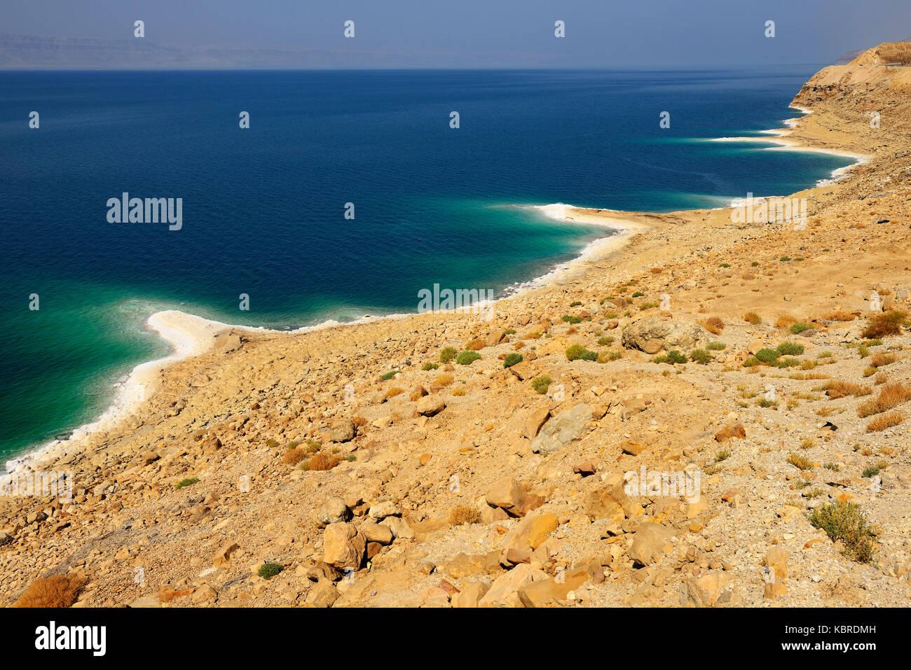 Mar Morto, Giordania Immagini Stock