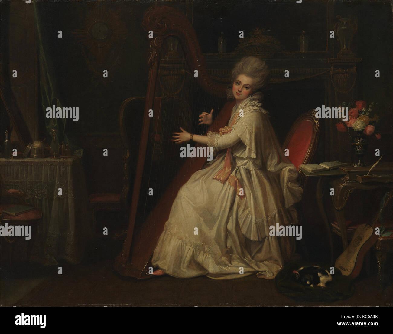 Marianne Dorothy Harland (1759-1785), in seguito la signora William Dalrymple, Richard Cosway Immagini Stock