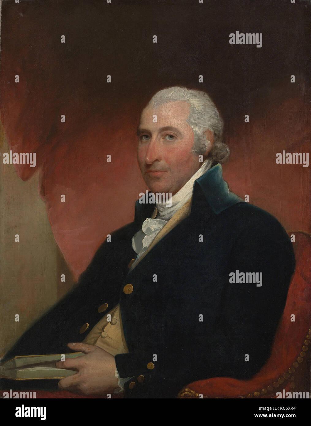 John Shaw, 1793, realizzato in Stati Uniti, olio su tela, 36 x 28. (91,4 x 71,1 cm), dipinti, Gilbert Stuart (American, Immagini Stock