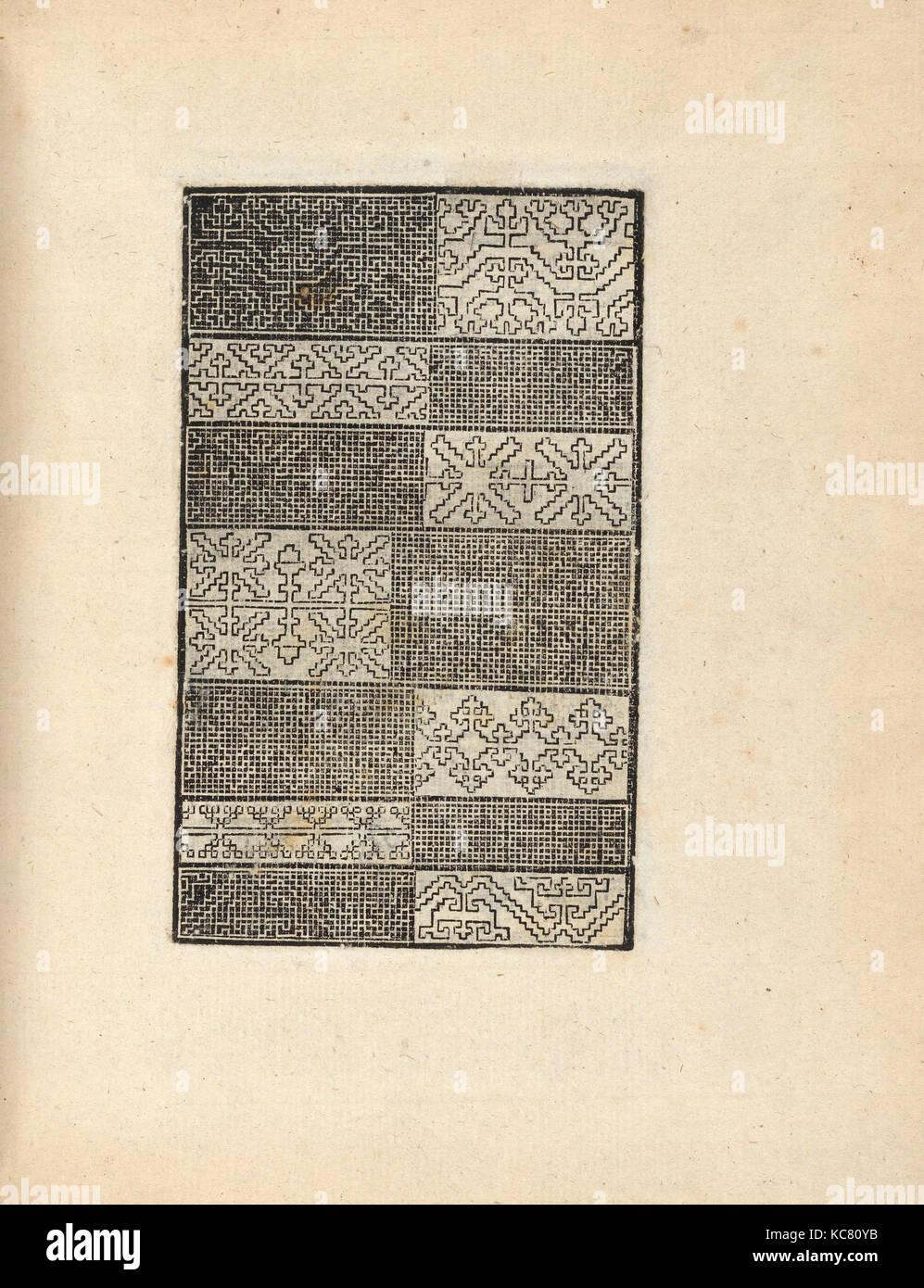 Trionfo di virtu. libro novo..., pagina 10 (recto), 1563 Immagini Stock