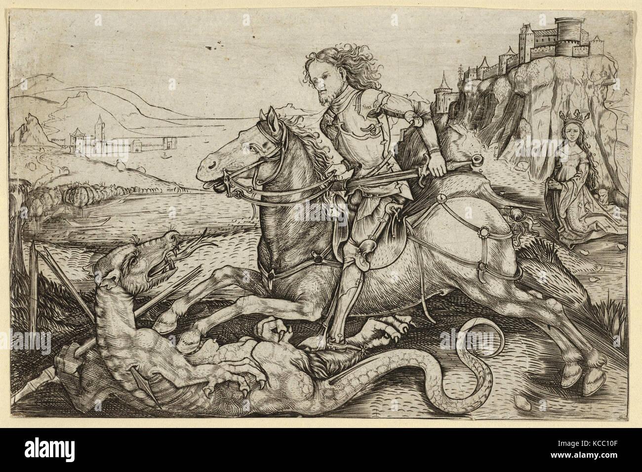 Europeo di scultura e di arti decorative, di pezzo, Francese, inizio del XVII secolo, 1600, 1615, seta e filo metallico Immagini Stock