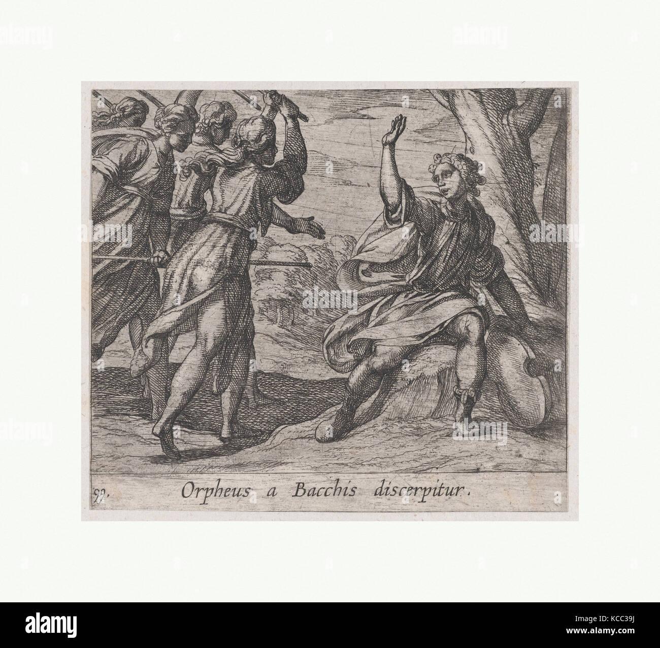 La morte d'Orfeo