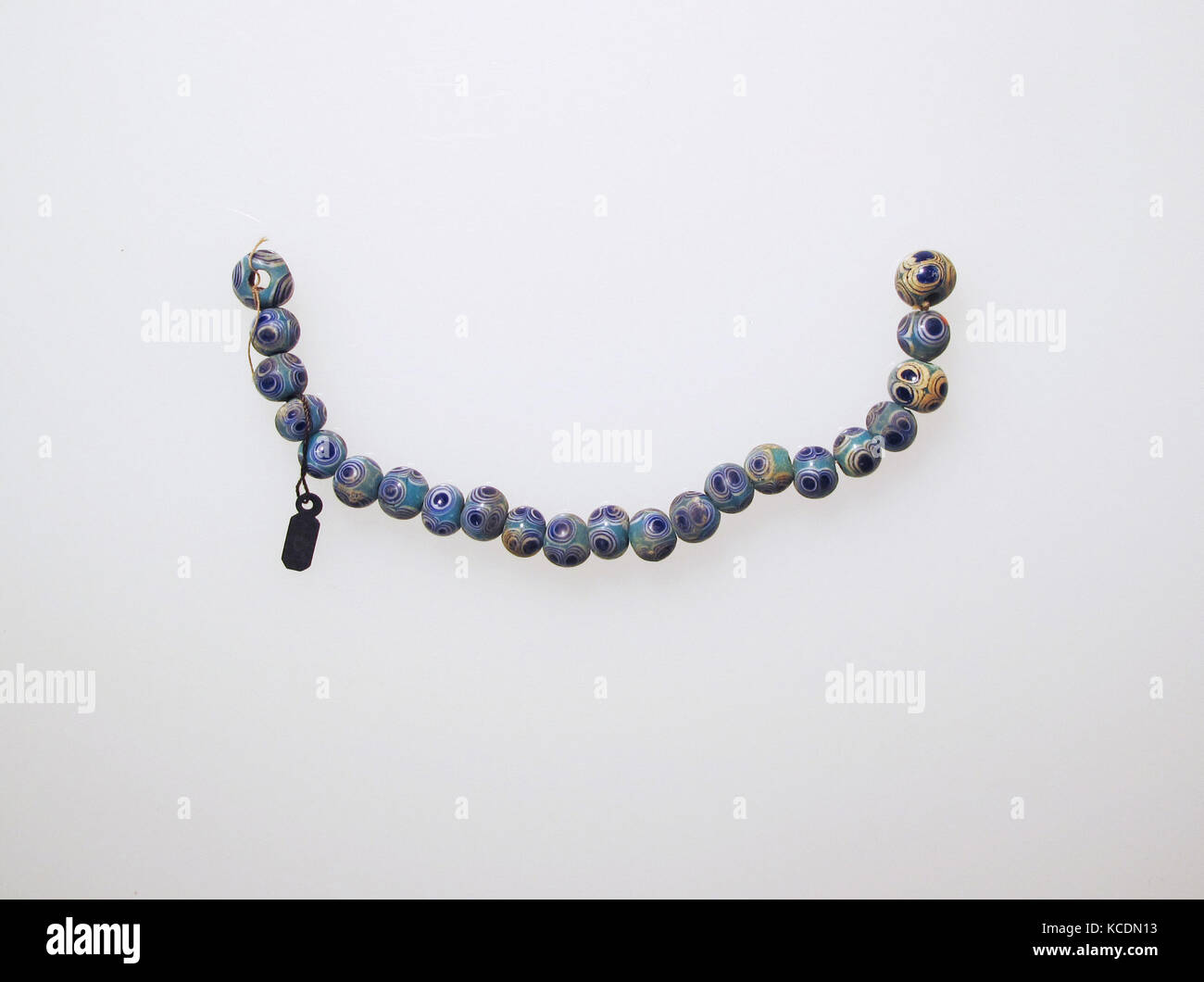 Perle, 22, vetro, altri: 6 a. (15,2 cm), vetro Immagini Stock