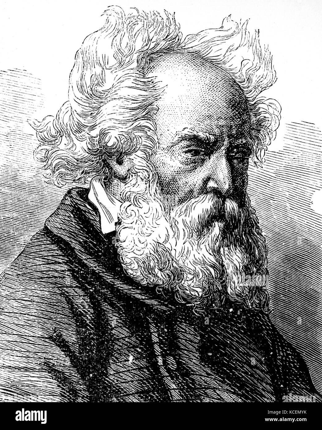 Frédéric sauvage (1786-1857), una barca francese builder che ha effettuato i primi test di tipo a vite Immagini Stock