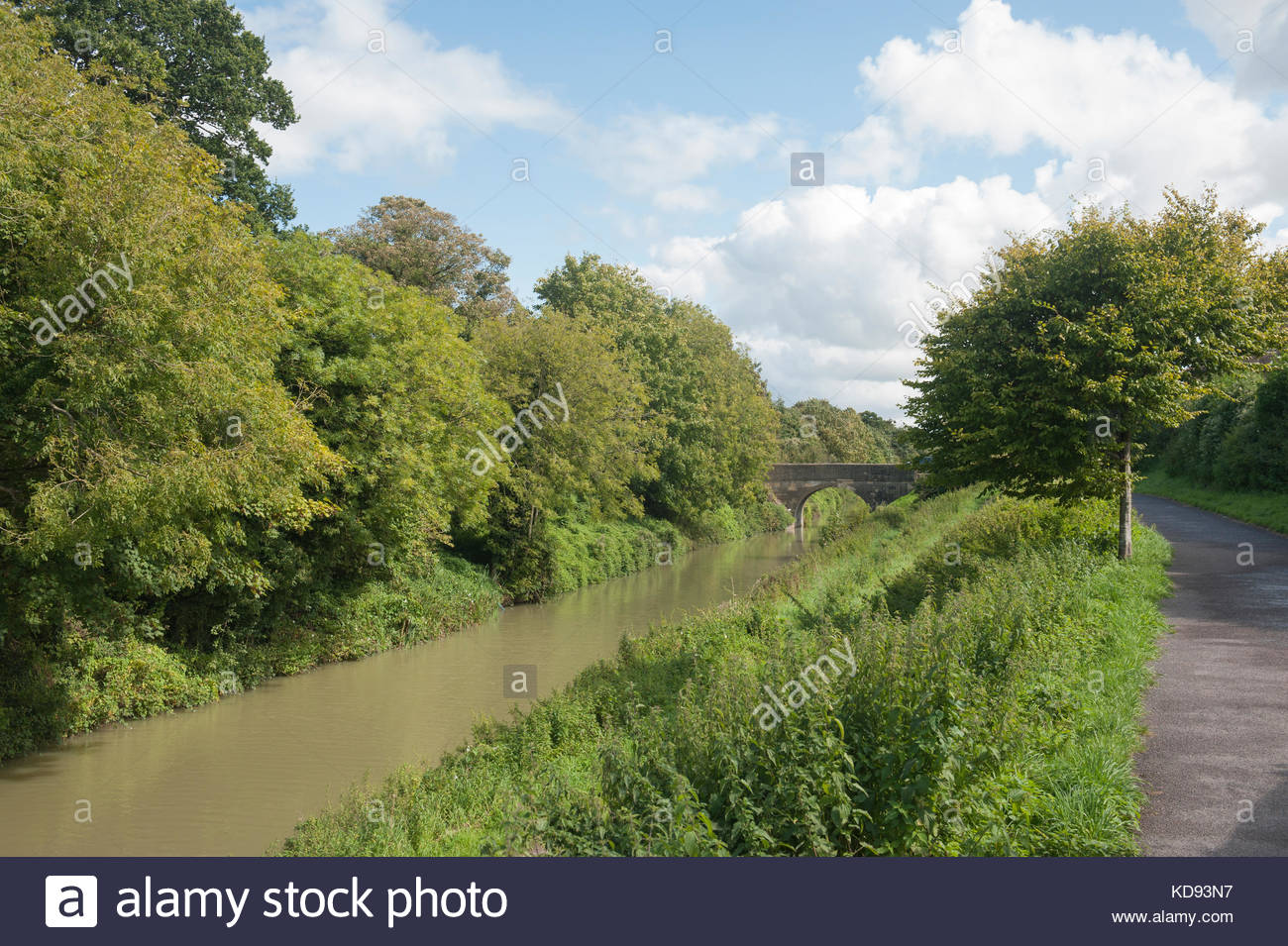 Devizes Wiltshire, Inghilterra UK Kennet and Avon Canal Immagini Stock