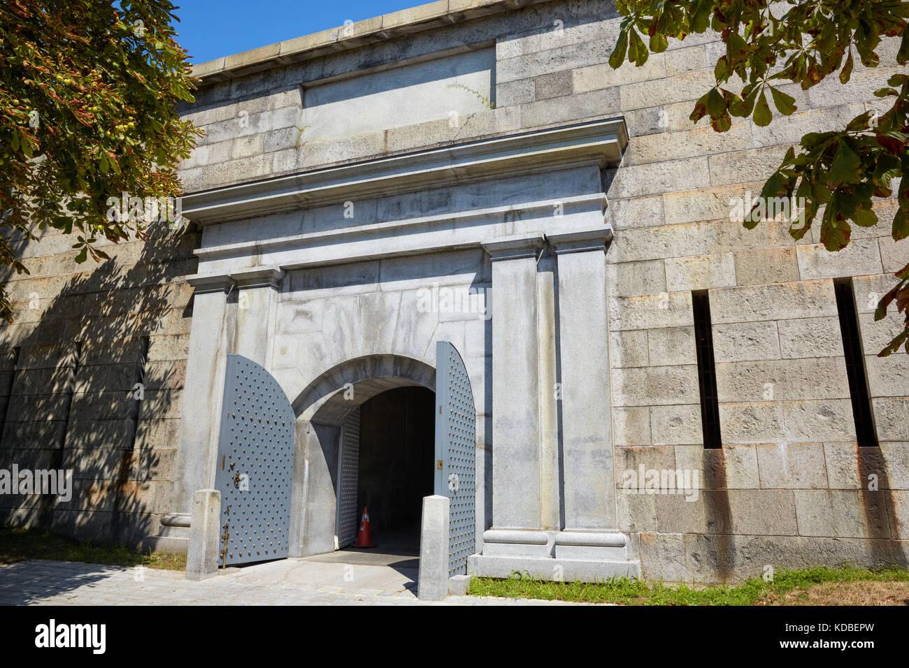 La Sally O Porta Di Ingresso Principale Al Castello Di Isola Di Fort