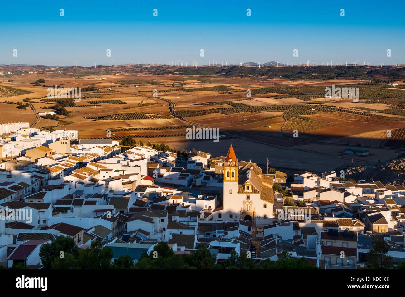 Villaggio di teba. provincia di Malaga, Andalusia. Spagna del sud Europa Immagini Stock