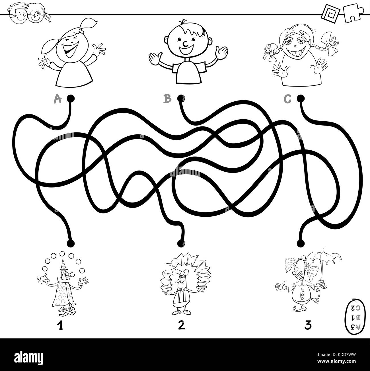 Clown Cartoon Coloring Page Immagini Clown Cartoon Coloring Page