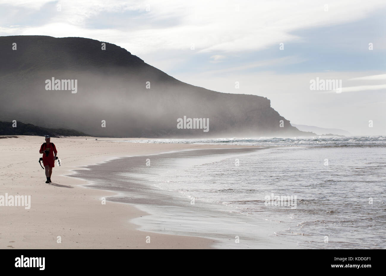 """Sud Africa, paesaggi marini e scogliere di natura della Valle, sulla """"Garden Route"""". Immagini Stock"""