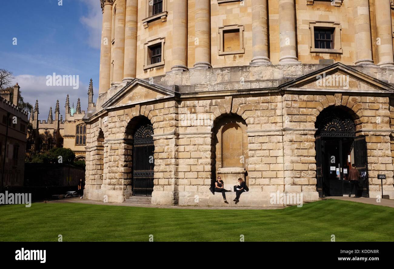 Oxford oxfordshire uk - la Radcliffe Camera edificio parte della biblioteca Bodleian Library nel centro della città Immagini Stock