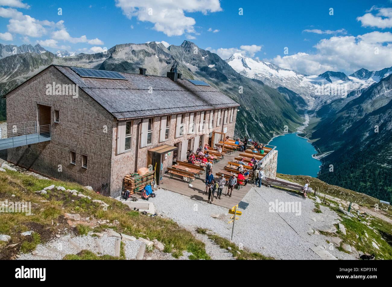 L 39 olperer capanna rifugio di montagna nelle alpi dello for Rifugio in baita di montagna