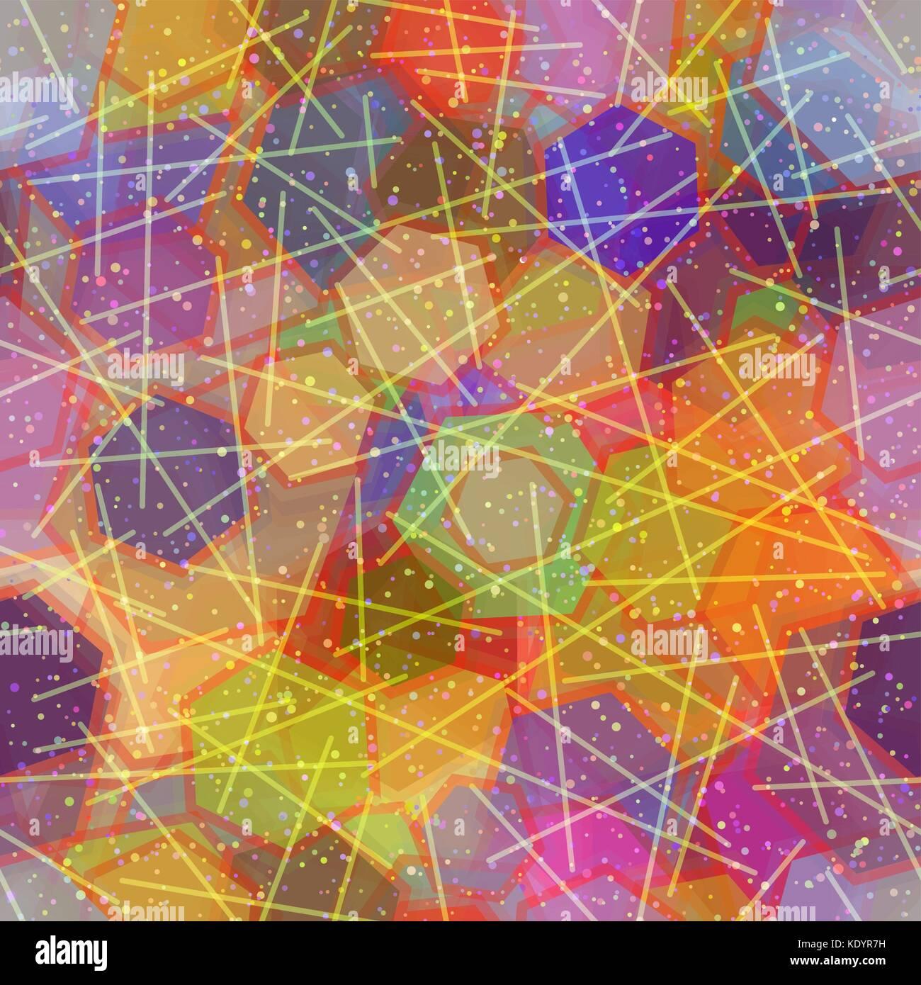 Seamless sfondo astratto Immagini Stock