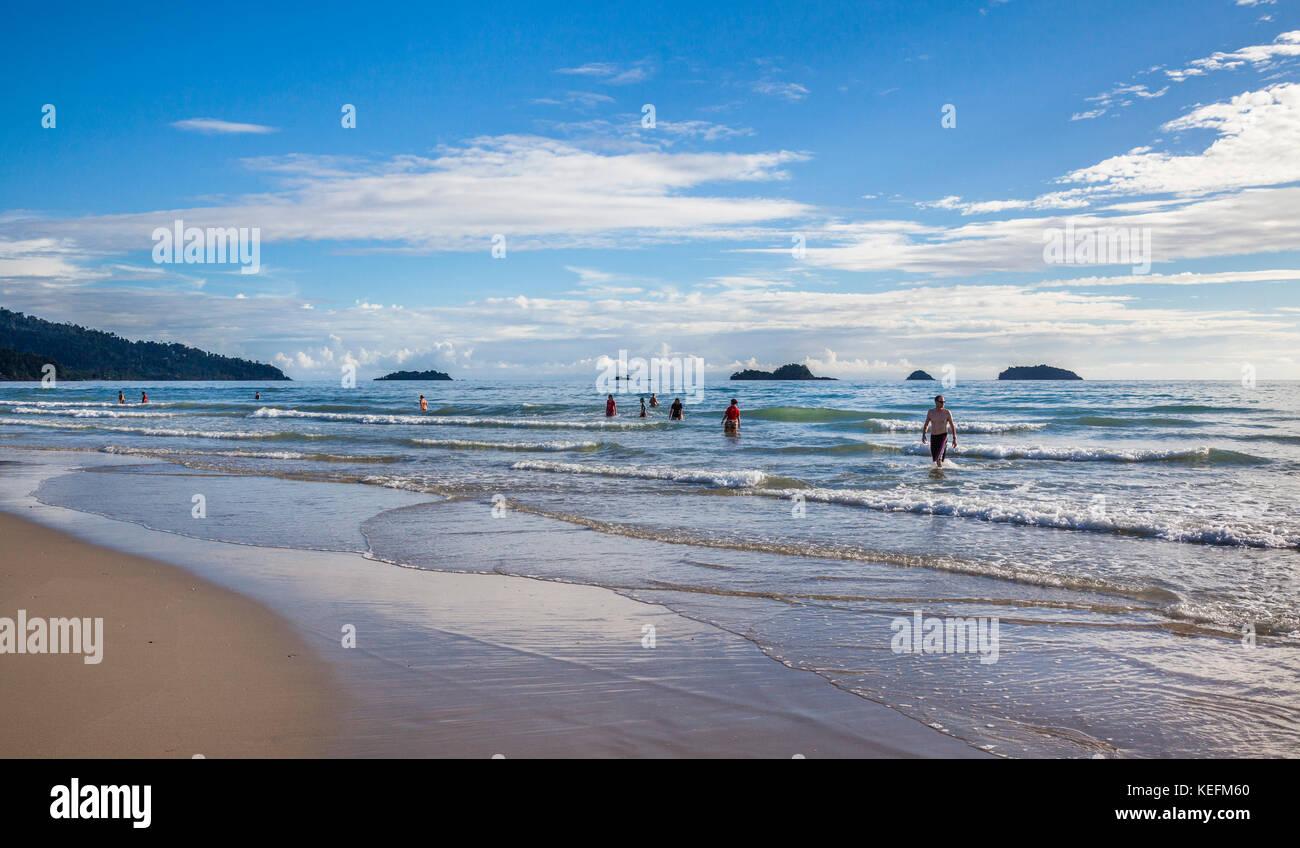 Thailandia, Trat Provincia, Koh Chang isola nel Golfo della Tailandia, West Coast, dolce navigare a Ao Klong Phrao Immagini Stock