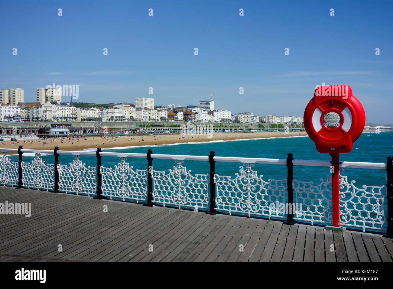 Il Brighton Pier. Regno Unito Foto Stock