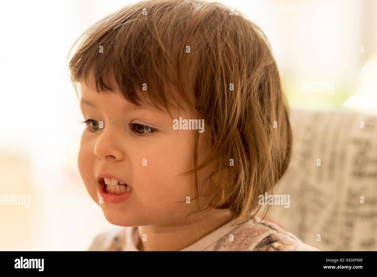 Bambino portret Immagini Stock
