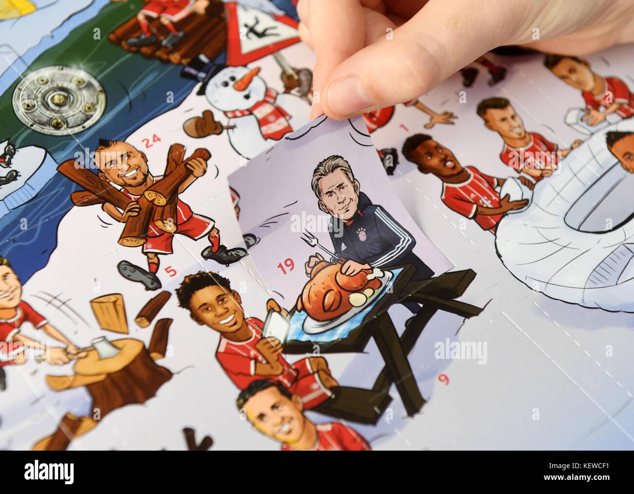 Calendario Bayern.Illustrazione Un Fc Bayern Monaco Di Baviera Avvento