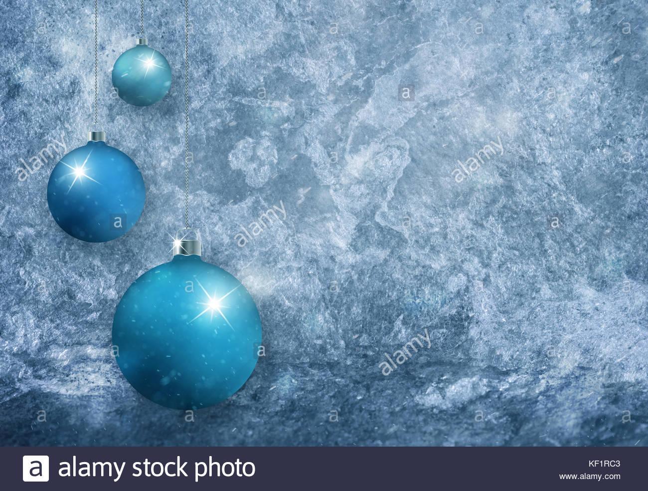 Blu ciano lampadine colorate con sparkle in bright sfocata color