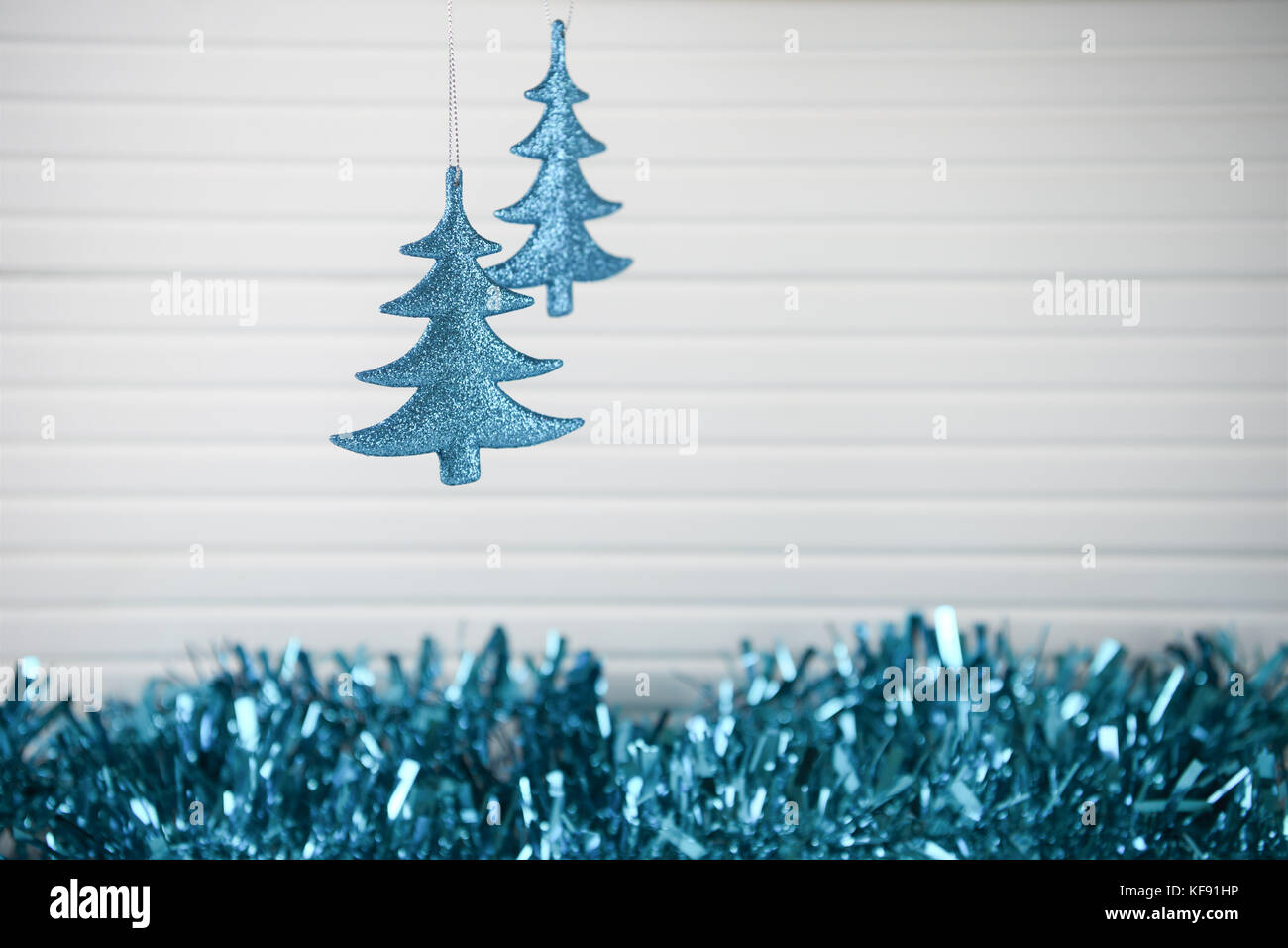 Albero Di Natale Con Decorazioni Blu : Fotografia di natale immagine dell albero di natale decorazione di