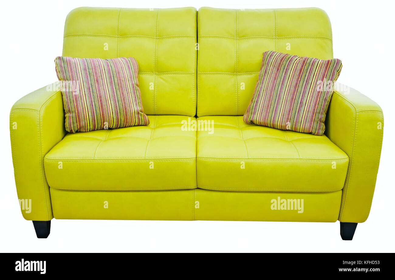Verde Lime Divano Con Cuscino Morbido Lettino Di Limone Pistacchio